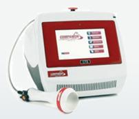 レーザーを使い、効果的な治療を短時間で行うことができます。体格や治療目的により適切な設定が可能です。